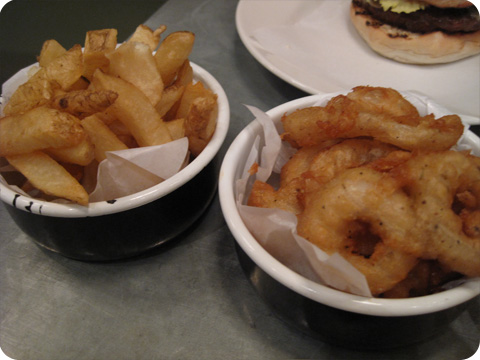 Fries & Onion Rings