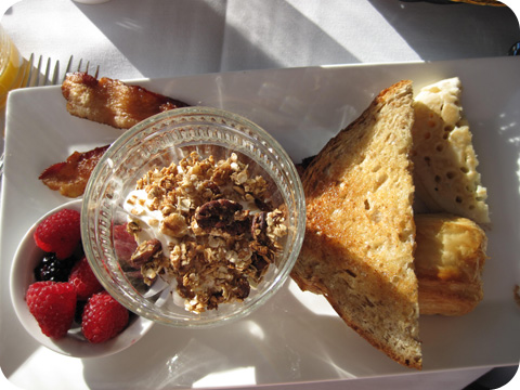 Bacon, Toast & Granola